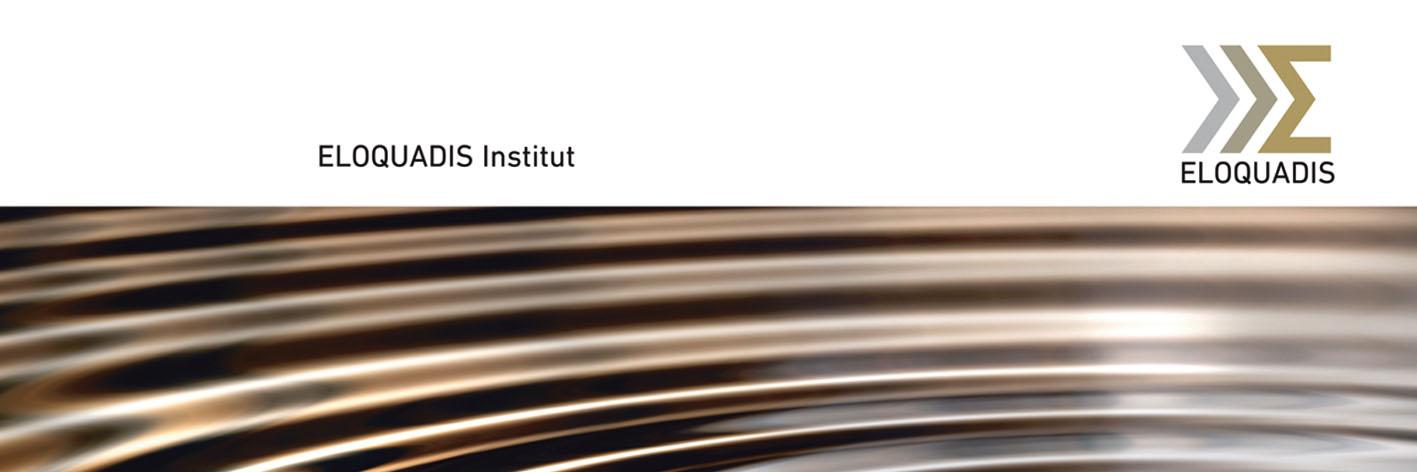 Wenn Sie auf höchstem Niveau agieren dürfen Sie dies auch zeigen. Für das Eloquadis-Institut gestalteten und fertigten wir Ringordner – in diversen metallischen Sonderfarben. Im Original sieht man das übrigens noch schöner als auf dem Bildschirm.